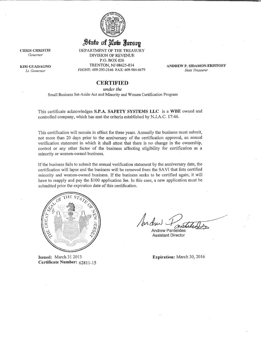 WBE Certified
