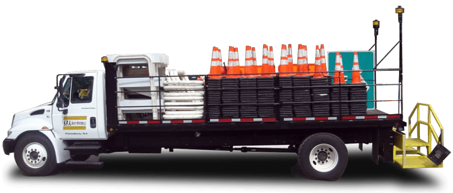 TMA Cone Truck features