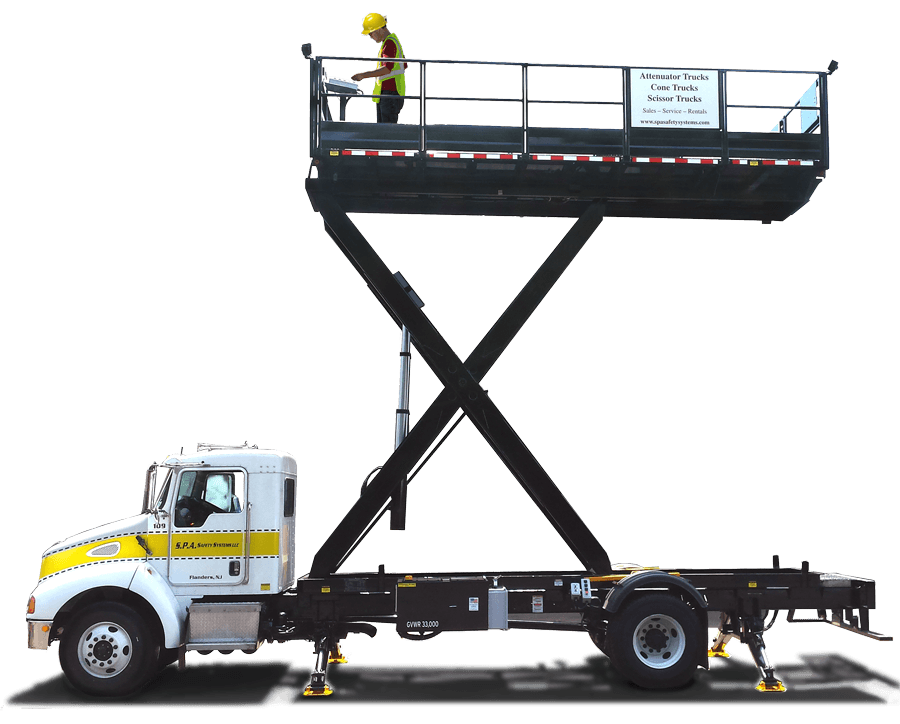 TMA Scissor Truck features