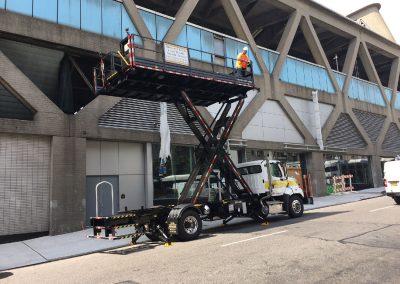 Scissor lift Truck - SPA Safety Systems, Flanders, NJ