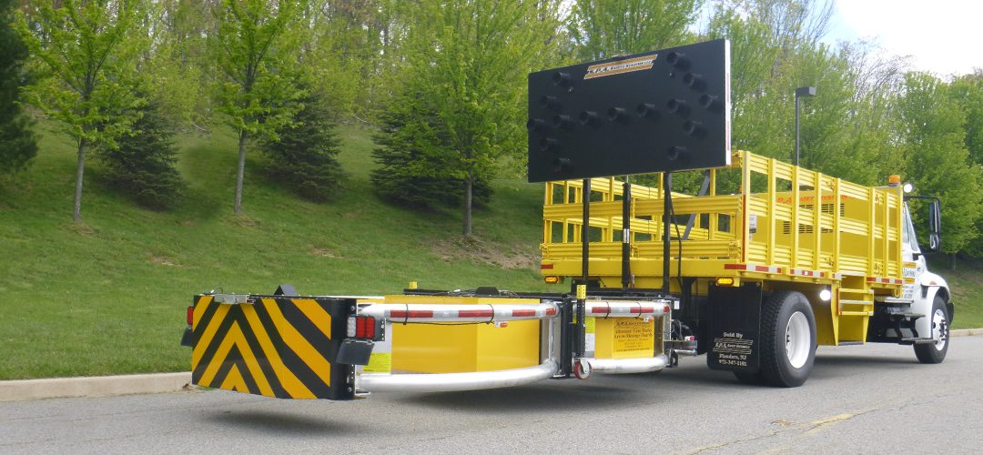 Truck-mounted attenuators - TMA Trucks - TMA Work Zone Safety Portable Positive Protection