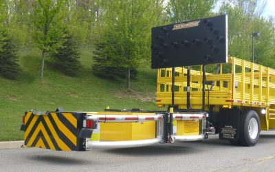 Truck-mounted attenuators are designed to save lives