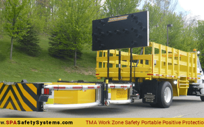 TMA Work Zone Safety Portable Positive Protection