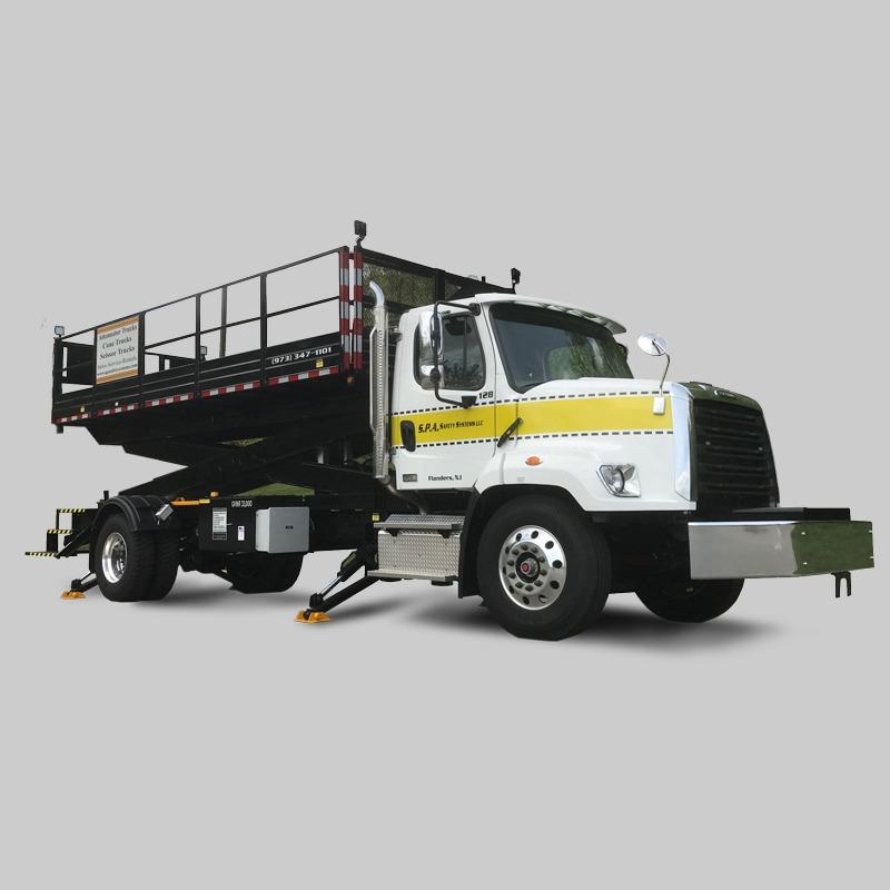 SPA Scissor Lift Trucks Work Zone Safety just got 12x Safer