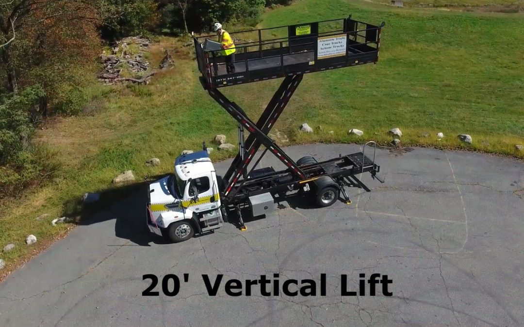 Scissor Lift Truck Demonstration Video