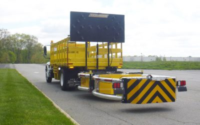 The World's First MASH Tested, Passed, & Eligible Truck Mounted Attenuator