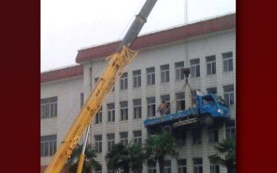 Times A SPA Scissor Lift Truck Would Have Been The Better Option