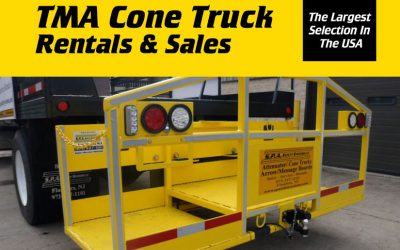 TMA Cone Truck Inventory – Largest Selection in the USA