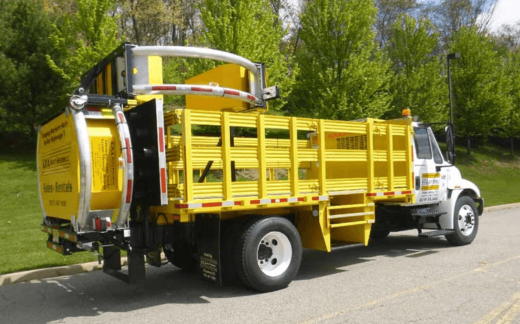 A TRUCK DESIGNED TO ABSORB IMPACT