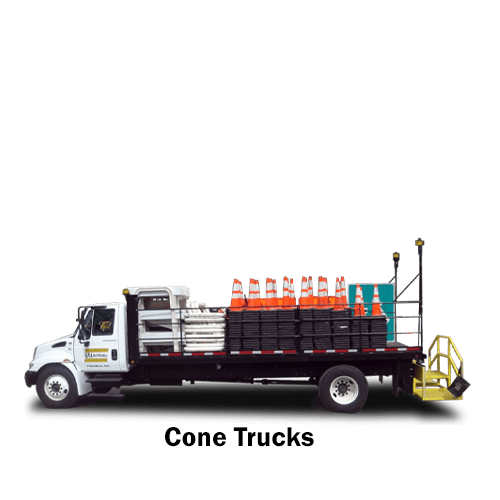 SPA Cone Trucks - for sale and rent
