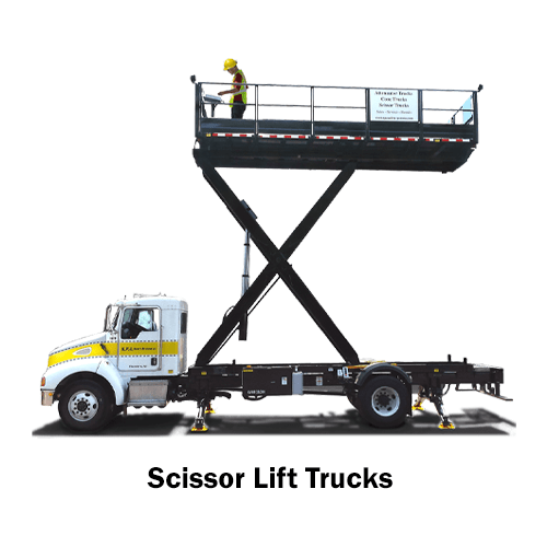 Scissor Lift Trucks - for sale and rent