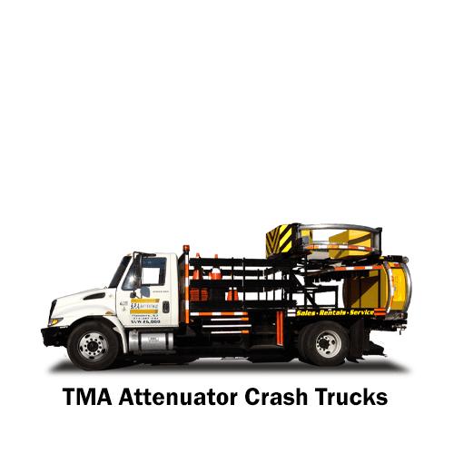 SPA TMA Attenuator Trucks