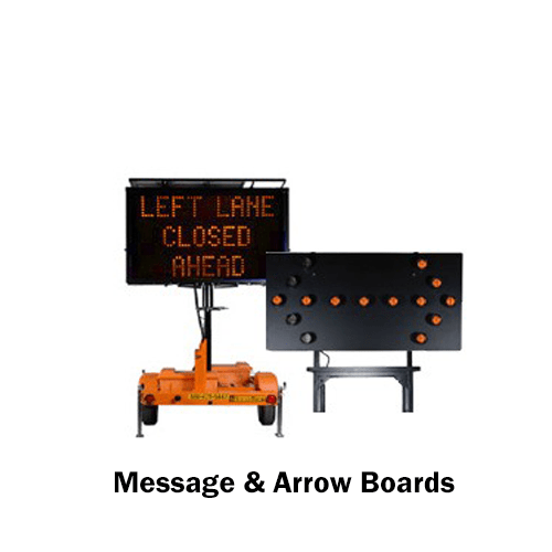 SPA message and arrow boards for highway safety
