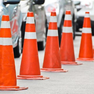 Buy orange traffic cones products from SPA Safety Systems, Flanders NJ