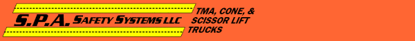 TMA Attenuator Trucks, Cone Trucks, Scissor Lift Trucks - NJ