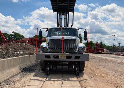 Railgear Scissor lift deck trucks for sale and rent in NJ, NY. PA, CT, RI, DE