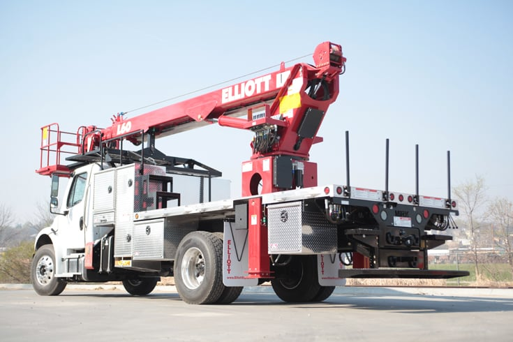 For Rent HIREACH 45'-65′ Bucket Truck at SPA