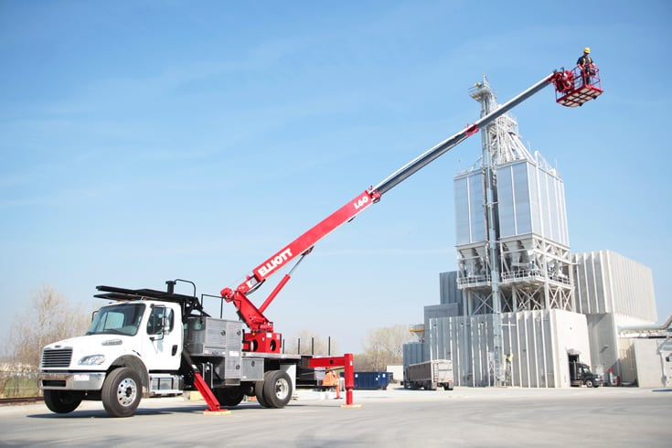 For Rent HIREACH 45'-65′ Bucket Truck by ELLIOT at SPA
