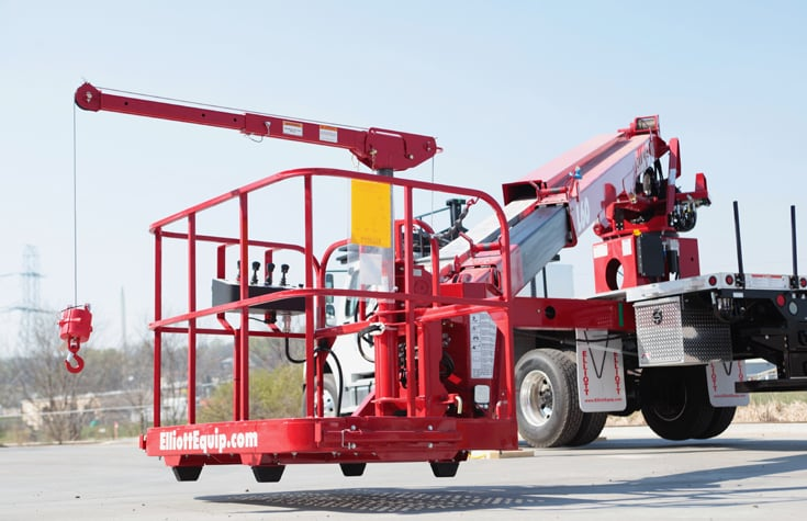 HIREACH 45'-65′ Bucket Truck by ELLIOT for Rent at SPA