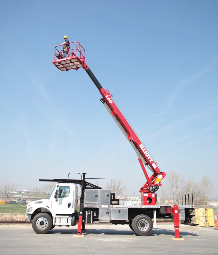 For Rent - Bucket Truck at SPA