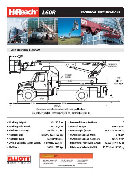 HiReach L60R brochure download