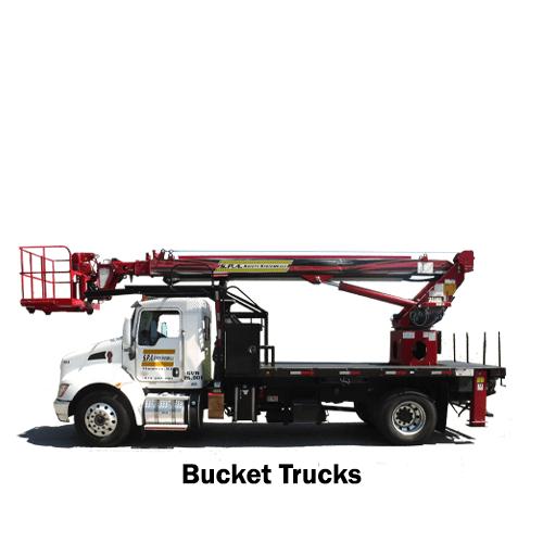 Bucket Trucks for Rent in NJ, NY, PA, CT, DE.