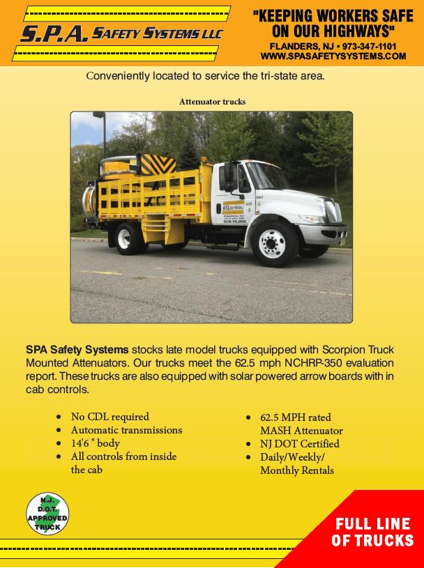 SPA Full Line Trucks brochure